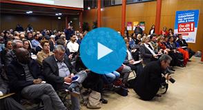 Retour sur la réunion publique du 17 janvier dernier à Champigny-sur-Marne: les habitants étaient invités pour échanger sur le projet du Gouvernement qui vise à supprimer les départements de petite couronne.