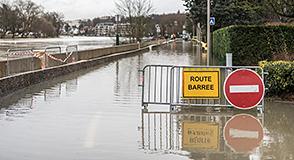 Point info crue au 2 février: Point d'information du 2 février 2018: ⚠ risque significatif de débordement des réseaux d'assainissement dans le Val-de-Marne.