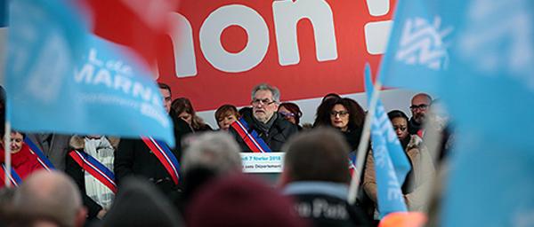 Journée sans Département: plus de 2 000 Val-de-Marnais mobilisés pour défendre les services publics
