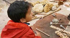 Mercredi 11 avril, les archéologues en herbe pourront s'initier aux techniques de fouille de nos ancêtres préhistoriques.