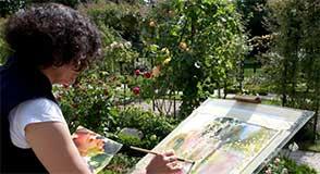 Le concours de peinture de la Roseraie revient pour une nouvelle édition. Vous avez jusqu'au 29 avril pour vous inscrire!