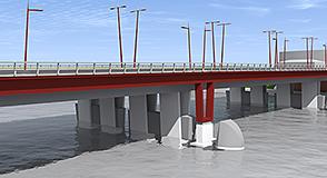 Élargissement du pont de Choisy-le-Roi: engagés depuis l'automne 2017, les travaux visent à faciliter les déplacements et rendre plus confortables les circulations douces.
