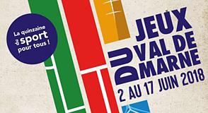 Du 2 au 17 juin, partez à la découverte de nouveaux sports avec les jeux du Val-de-Marne. Nouveauté 2018: course d'obstacles, inscrivez-vous dès maintenant!