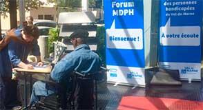 Rendez-vous au forum MDPH vendredi 25 mai à Créteil pour rencontrer des professionnels du handicap et poser vos questions