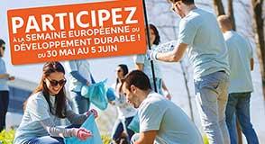 Du 30 mai au 5 juin, c'est la Semaine européenne du développement durable: c'est l'occasion de rappeler les bonnes pratiques et de découvrir des initiatives locales.