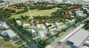 Création d'un pôle Emploi-Formation-Recherche, ouverture au public de la pelouse centrale... Découvrez l'avenir de la ZAC Chérioux le mardi 12 juin.