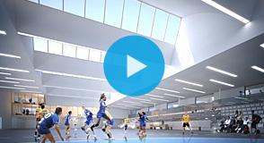 14 000m² de surface, 20 000m² de terrain, un espace de musculation… La Maison du handball a ouvert ses portes à Créteil.