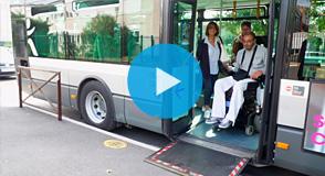 La ligne de bus 172, qui relie Bourg-la-Reine à Créteil est désormais accessible aux personnes à mobilité réduite.
