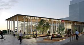 Le projet de gare du RER E à Bry-Villiers-Champigny vient d'être déclaré d'utilité publique. C'est une avancée pour les transports collectifs dans le Département.