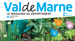 """""""Le Val-de-Marne, on l'aime solidaire et durable"""". Dans ce numéro de janvier, un dossier consacré au développement durable dans les politiques du Département. Bonne lecture."""