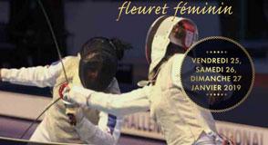Du 25 au 27 janvier à Saint-Maur, venez encourager les 200 meilleures fleurettistes féminines venues du monde entier pour la coupe du monde.