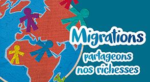 """Dans le cadre de la campagne """"Migrations: partageons nos richesses"""", une soirée d'échanges et d'animations est organisée afin de lutter contre les préjugés."""