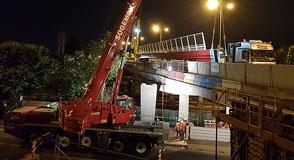 Point d'étape sur les derniers aménagements du pont de Choisy-le-Roi, des travaux qui visent à Faciliter les déplacements et rendre plus confortables les circulations douces.