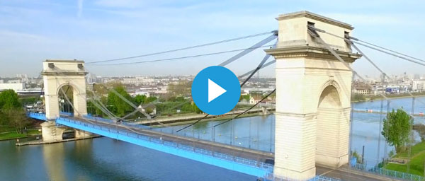 Le pont du Port-à-l'Anglais rénové et éclairé