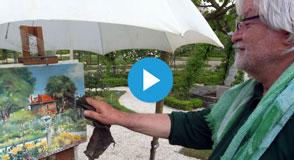 """Le Département organise un concours de peinture! Dès le 4 avril, laissez s'exprimer vos pinceaux sur  """"Les animaux au jardin""""."""
