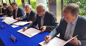 Ce mardi 4 juin à Créteil, le Département et ses 8 cosignataires ont signé un engagement commun pour lutter contre la précarité énergétique en Val-de-Marne.