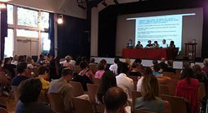 Le 2 juillet, le Département et ses partenaires européens du projet Above se sont  réunis pour évoquer l'emploi des personnes en situation de handicap psychique.