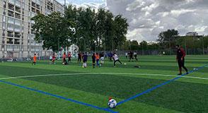 Ce week-end, le Département du Val-de-Marne a inauguré la nouvelle surface du complexe sportif Jean Mermoz avec la ville d'Orly.