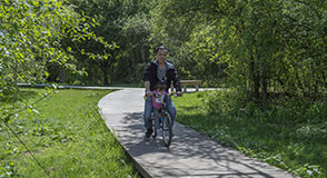 Ce samedi 14 septembre, le long de la Tégéval, profitez du beau temps pour enfourcher votre vélo: les agriculteurs bio du plateau Briard vous attendent.