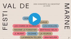 Le Festi'Val de Marne électrise le département jusqu'au 19 octobre, ! Près de 300 artistes vont défiler sur les planches val-de-marnaises.