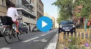Apaiser les circulations, sécuriser l'espace public et valoriser le cadre de vie… découvrez les aménagements de la RD127 à Gentilly.