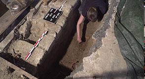 Le Département procède actuellement à une analyse archéologique d'un terrain à Chennevières-sur-Marne.