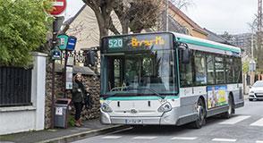 Dès le 9 mars, la ligne de bus 520 est prolongée jusqu'à la gare RER des Boullereaux à Champigny-sur-Marne. Les fréquences seront renforcées.