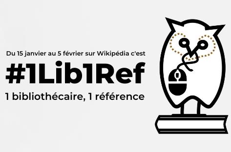 COMMUNAUTÉ • Campagne Wikipédia #1lib1ref du 15 mai au 5 juin