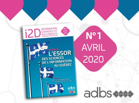 i2D n° 1 avril 2020 est disponible sur Cairn.info