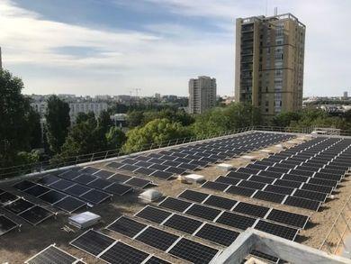 Les premiers panneaux solaires citoyens du Val-de-Marne sont installés!