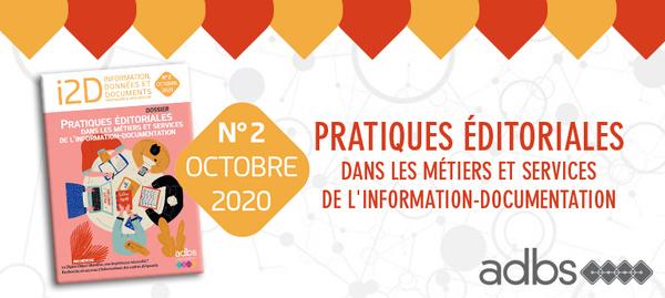 À LA UNE • I2D 2020, le n° 2 vient de paraître!
