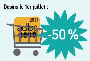 A LA UNE • Adhésion 2021 à -50%!