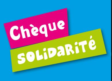 Chèque solidarité: les inscriptions sont ouvertes!