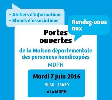 MDPH: Portes ouvertes mardi 7 juin