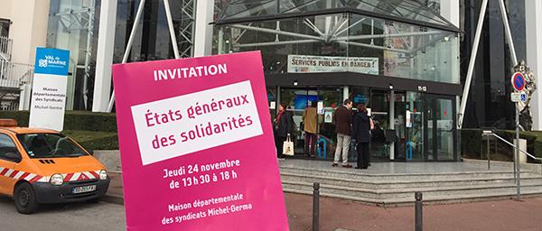 8 engagements pour améliorer les solidarités dans le Val-de-Marne