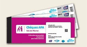 Chèques APA Val-de-Marne: un nouveau mode de paiement pour les bénéficiaires de l'APA qui emploient directement une aide à domicile