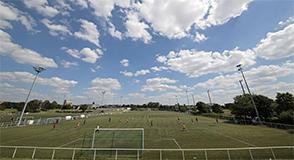 La nouvelle salle polyvalente du parc du Tremblay, à Champigny-sur-Marne, sera inaugurée vendredi 21 avril, à 18h00