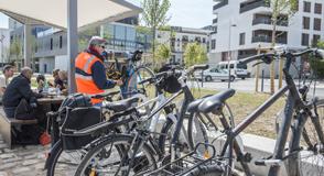 Eurovélo 3: le samedi 24 juin sera inaugurée la 1ère aire de services vélos et des nouveaux quais de Seine à Choisy-le-Roi