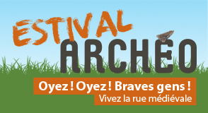 Ce week-end au parc des Hautes-Bruyères (Villejuif), venez flâner dans les rues du moyen-âge avec l'Estival Archéo