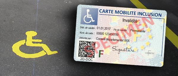 Lancement de la carte mobilité inclusion pour les personnes en situation de handicap / en perte d'autonomie