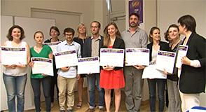 Prix de l'Université 2017: mercredi 28 juin à Créteil, 13 étudiants ont été récompensés pour leur mémoire de Master ou leur thèse de Doctorat