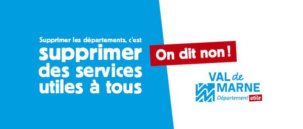 Faire disparaître les départements franciliens: c'est supprimer des services utiles à tous