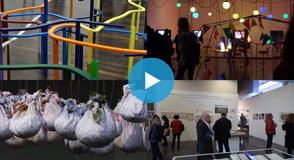 """Depuis le 21 octobre, le MAC VAL propose 4 nouvelles expositions: sculpture, architecture, installation, """"art de la joie""""... Petit aperçu en images."""